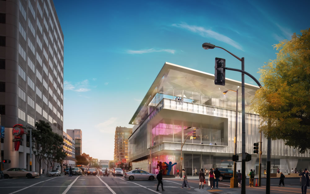 Moscone Center Expansion Proposed Rendering Corner