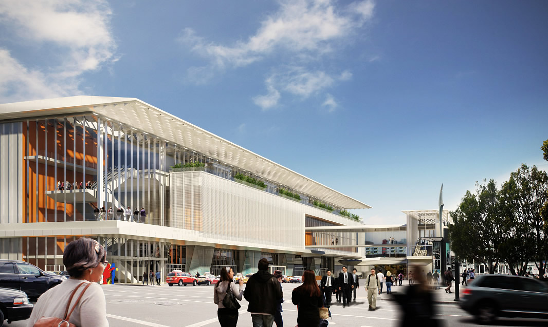 Moscone Center Expansion Rendering 2.0