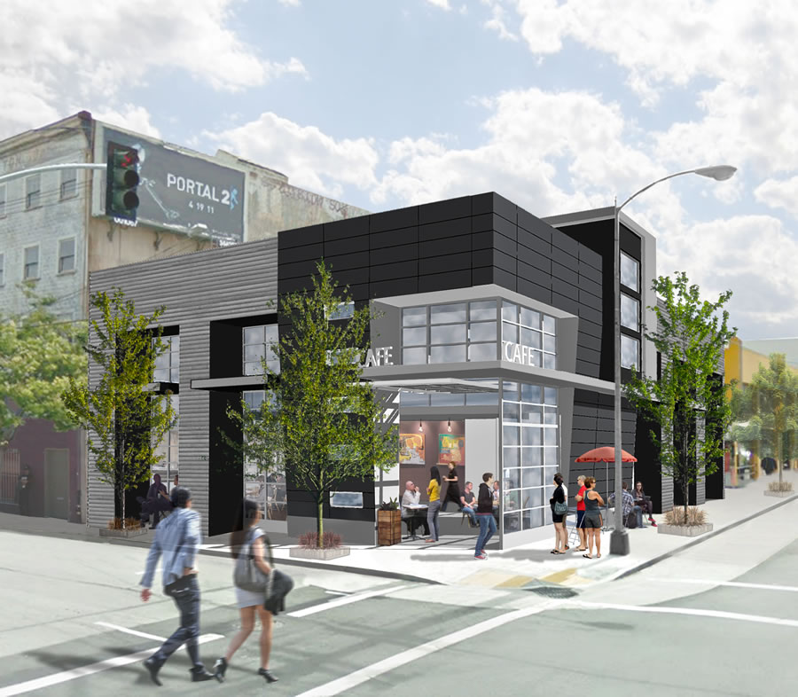 Designs For A New Cafe And More At 7th And Brannan
