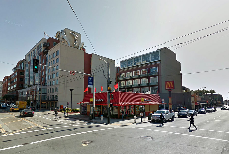 McDonald's Site Near AT&T Park Slated For 10-Story Hotel
