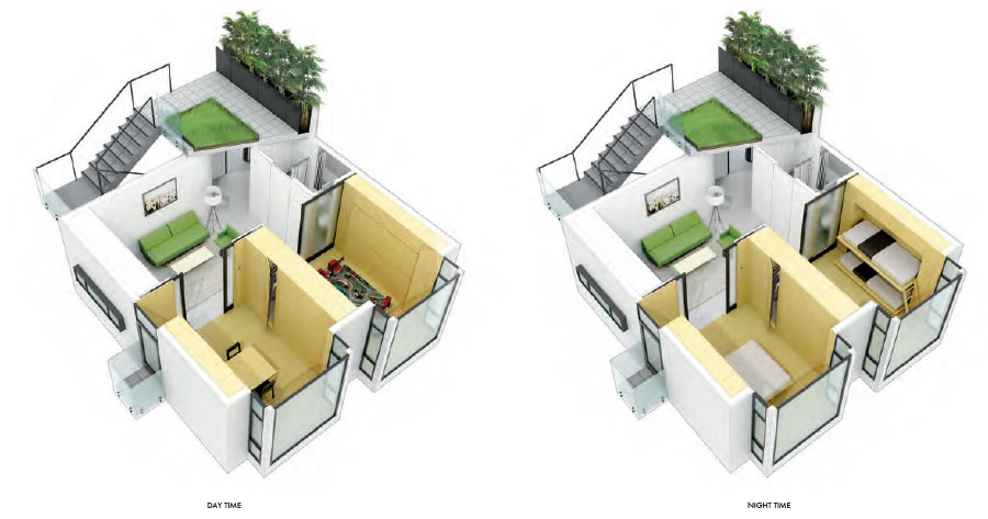 "Plans For ""Living Smart"" In 600 Square Foot Two-Bedrooms"