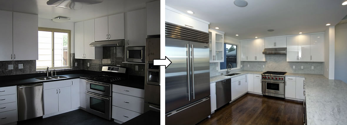 1750 Noe Street Kitchen: Before and After