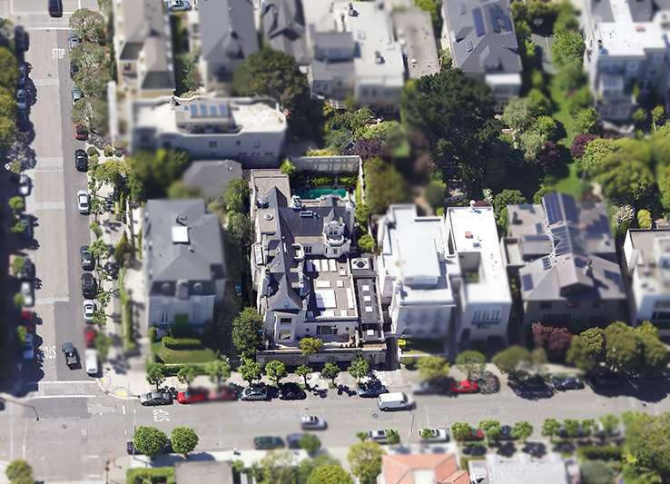 3725 Washington Street Aerial