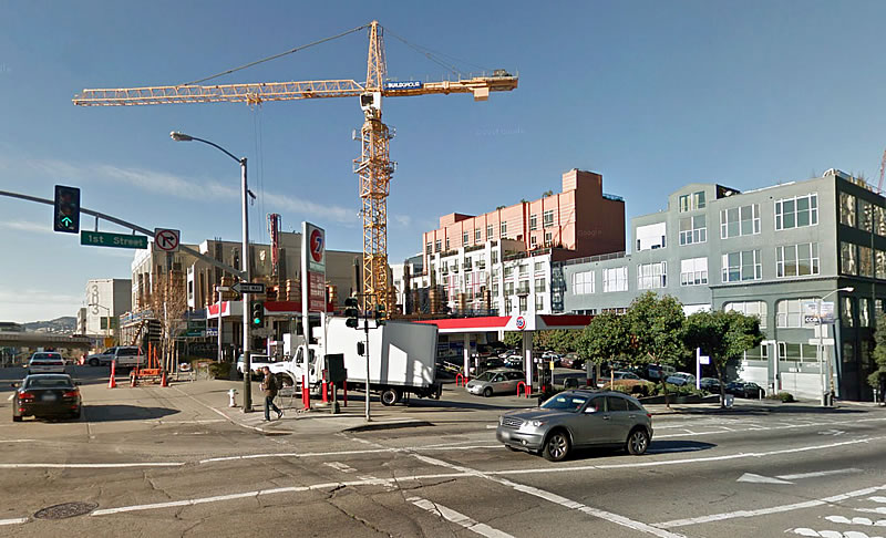 Plans To Raze Prominent Rincon Hill 76 Station For Condos To Rise