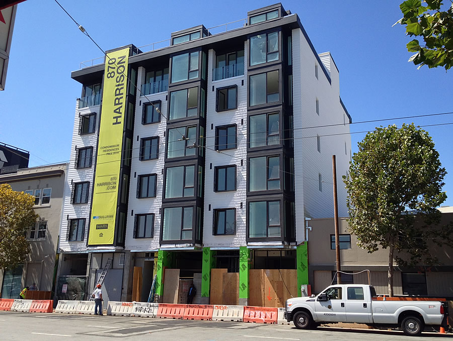 870 Harrison Street: 26 New Condos On The Map