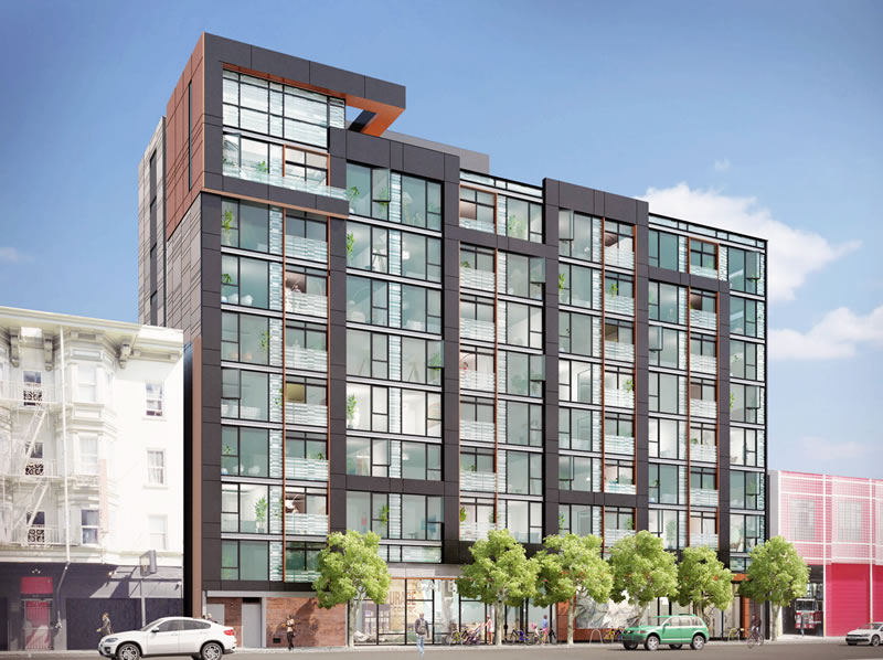 Folsom Street Development Approved, 114 Condos To Rise