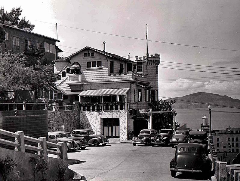 Julius' Castle circa 1940