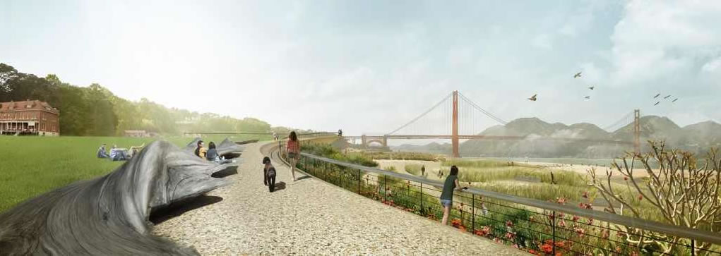 New Presidio Parklands Concept:  James Corner Field Operations Design