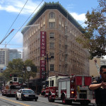 Historic Renoir Hotel Catches Fire Amid $30M Renovation
