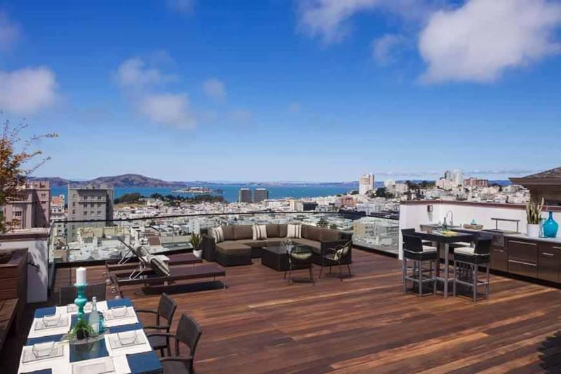 2040 Jackson Street Roof Terrace