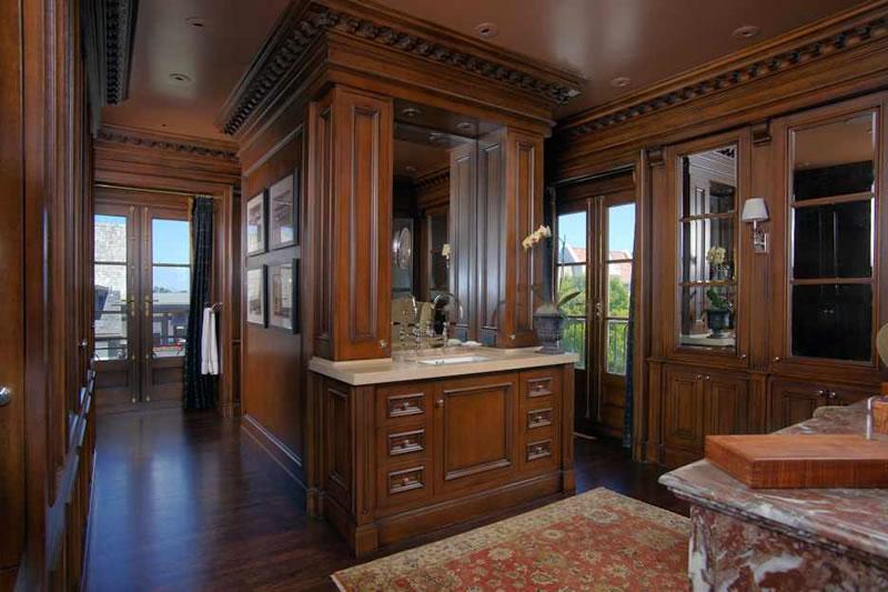 "3501 Jackson Street: ""His"" Master Bath and Closet"