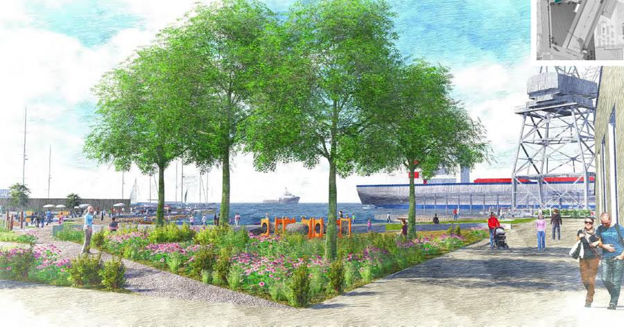 Crane Cove Park Site as Envisioned