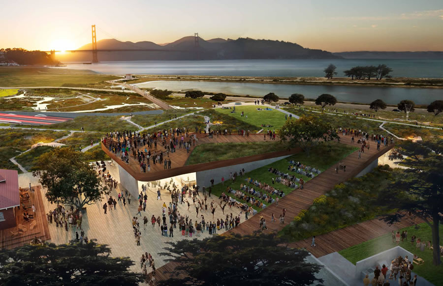 New Presidio Parklands Concept Design - CMG