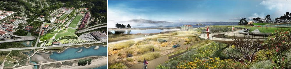 New Presidio Parklands Concept Design - James Corner Field Operations