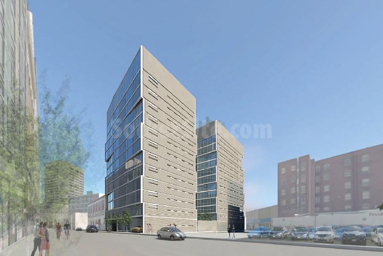 1546–1564 Market Street Project: Oak Street Rendering