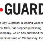Speaking To A Different San Francisco, Bay Guardian Says Goodbye