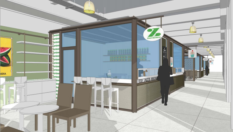 SocketSite™ | New Kiosks To Activate The Ferry Building's North Arcade