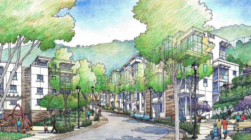 The Kirkham Project Rendering - Fifth Avenue