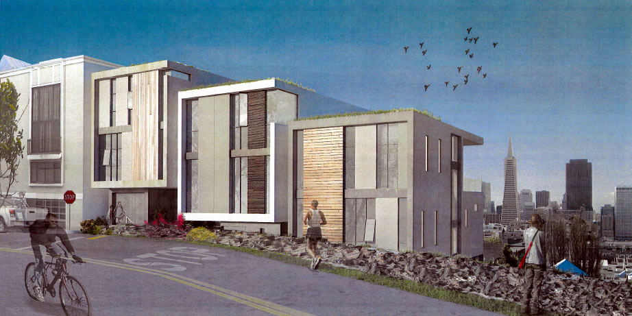 115 Telegraph Blvd Rendering