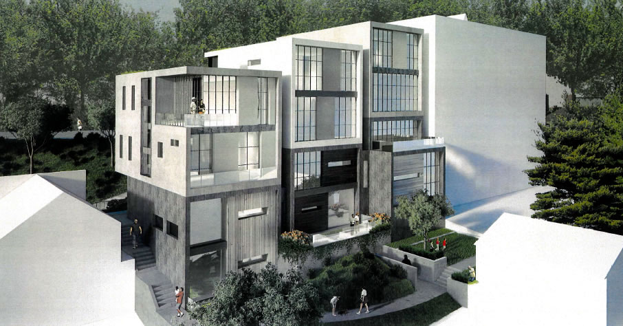 115 Telegraph Blvd Rendering Rear