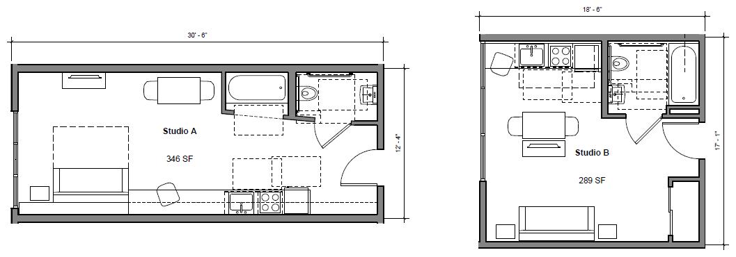 1178 Folsom Floor Plans