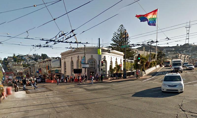 400 Castro Street Corner