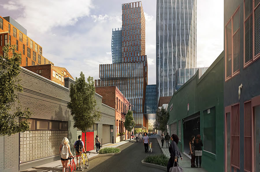 Stunning New Renderings And Context For SoMa Mega-Project