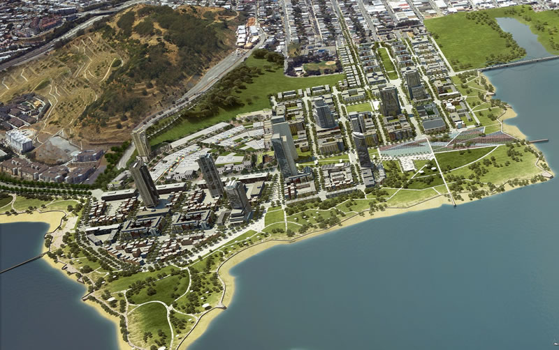 Candlestick Point Rendering Aerial