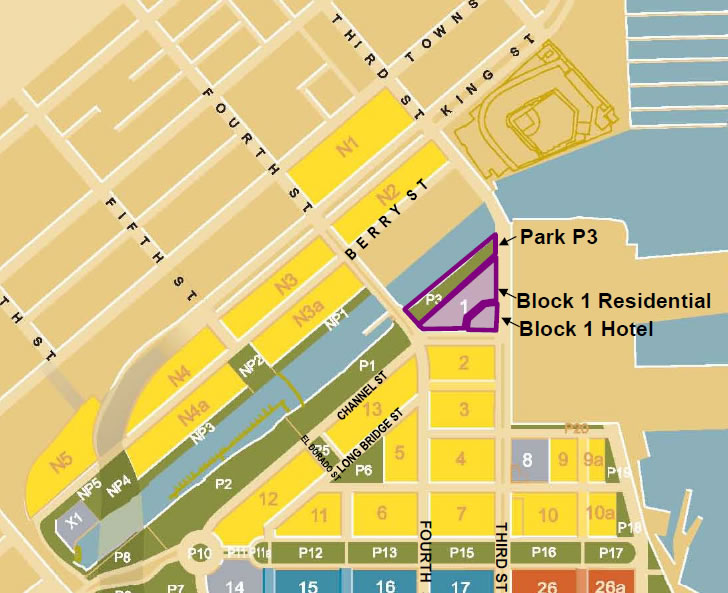 Mission Bay Block 1 Site Plan