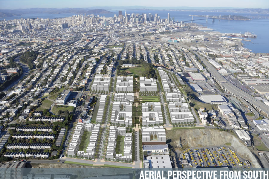 Potrero Terrace and Annex Site as Proposed