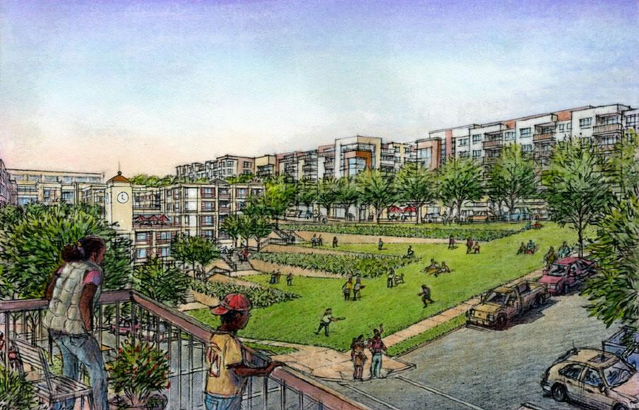 Rebuild Potrero Rendering: 24th Street Park