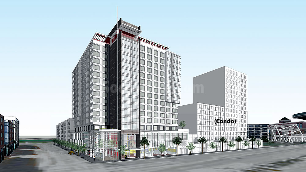 Soma Mission Bay Hotel Design