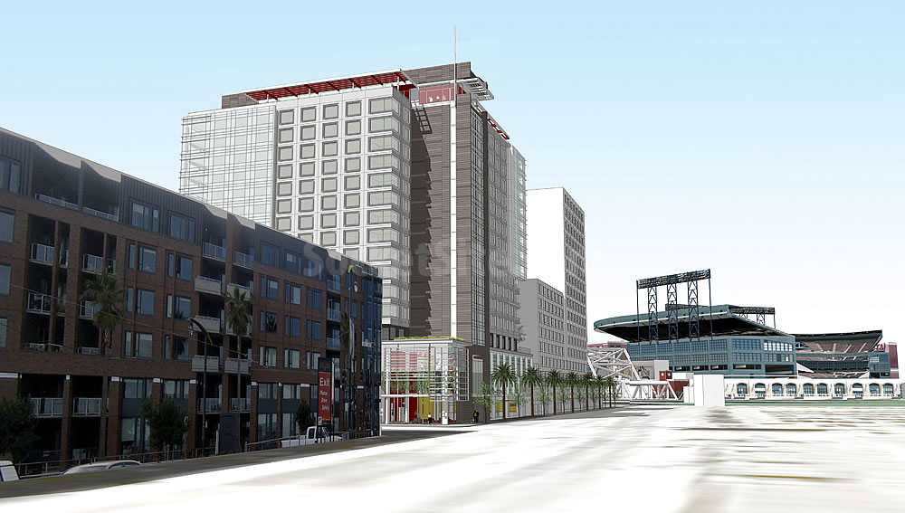 New Designs And Timing For Big Mission Bay Hotel