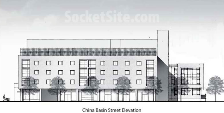1300 4th Street Design: China Basin Elevation