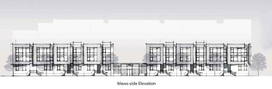 1300 4th Street Design: The Mews
