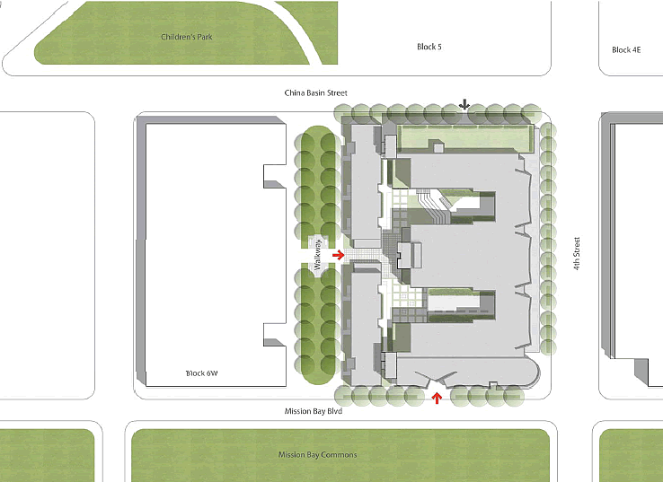 1300 4th Street Site Plan