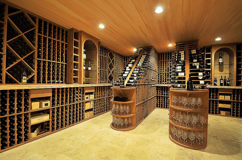 2900 Spring Mountain Road Wine Cellar