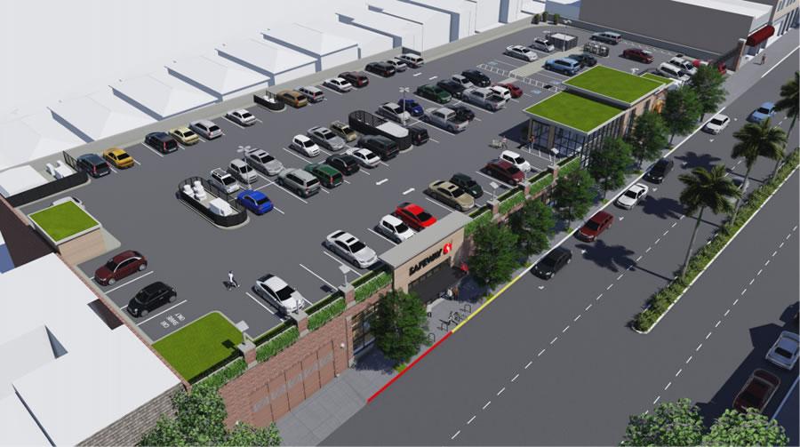 625 Monterey Boulevard Safeway Rendering: Roof