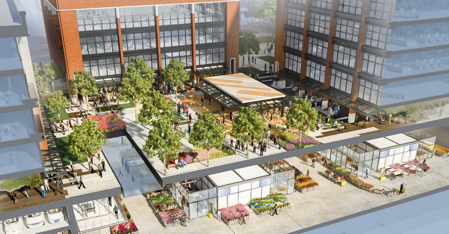 New SF Flower Mart Rendering