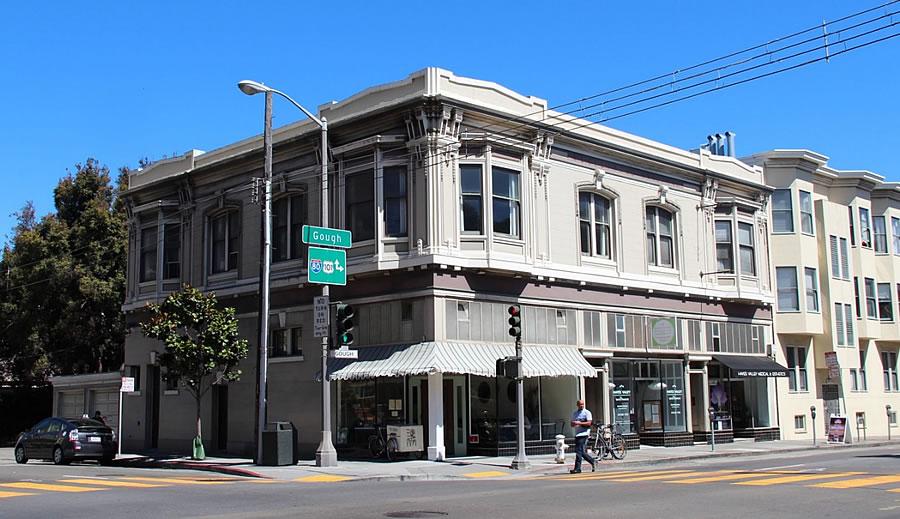 R. L. Goldberg Building at 182-198 Gough Street