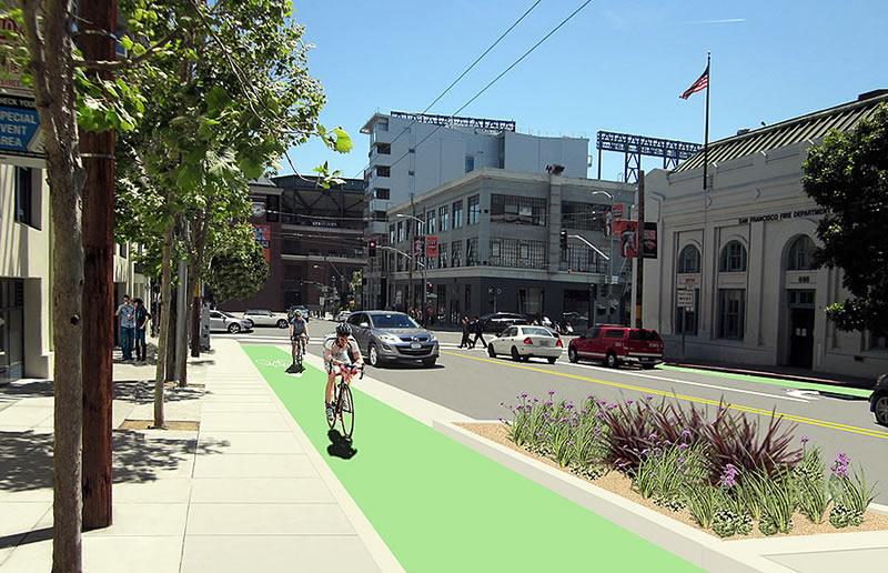 Second Street Improvement Project Rendering2