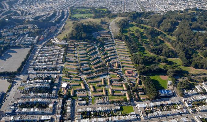 Sunnydale Aerial