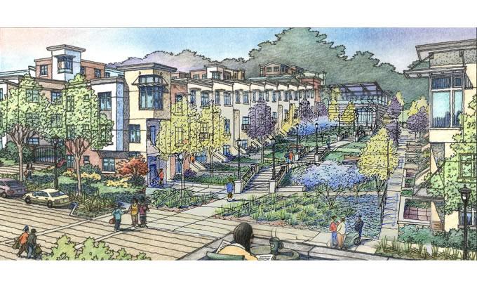 Sunnydale Rendering Terrace