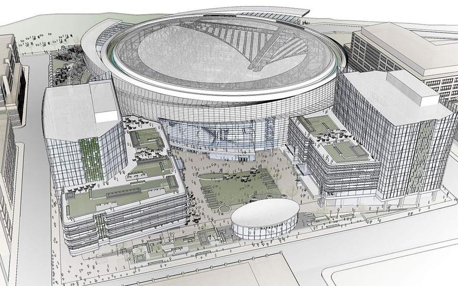 Warriors Mission Bay Arena: Revised Concept Design