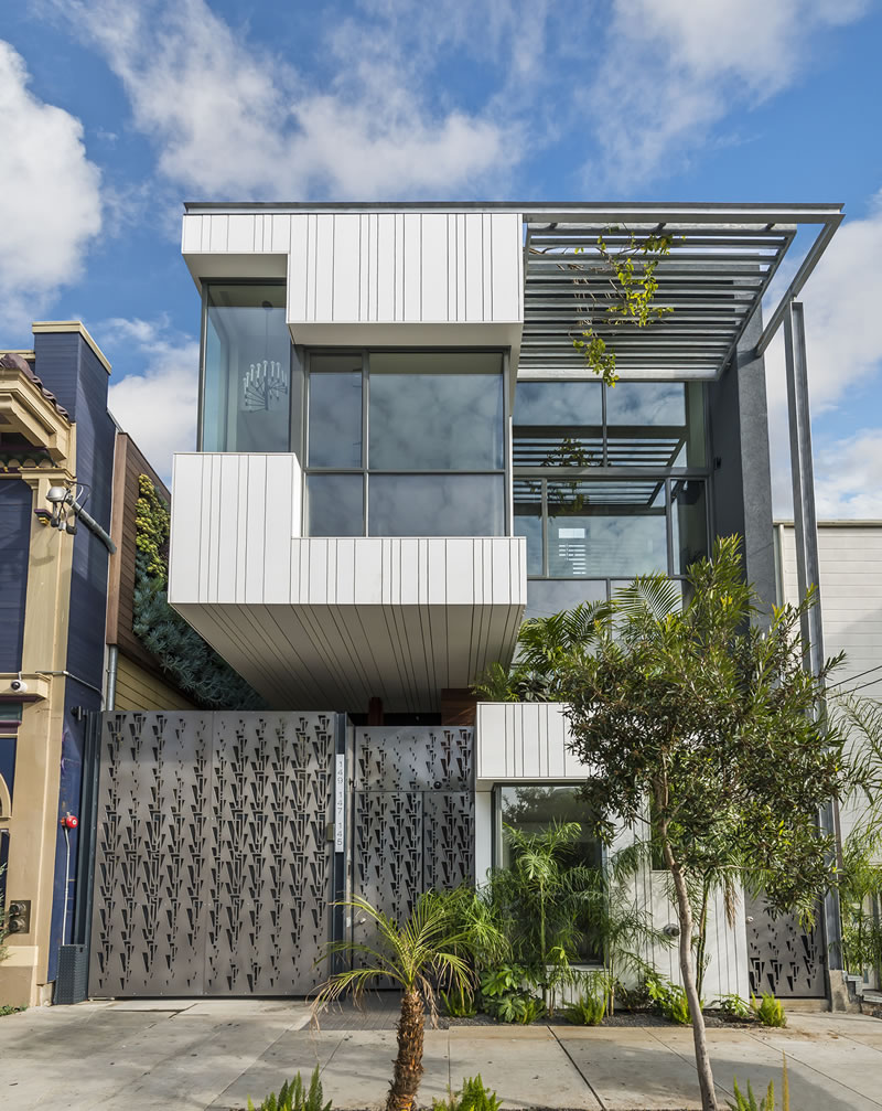 Modern Architecture On Albion Priced At $1,350 Per Square Foot