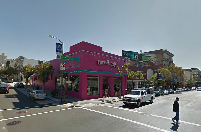 Polk Street Development Could Displace Boxers And Thrift Stores