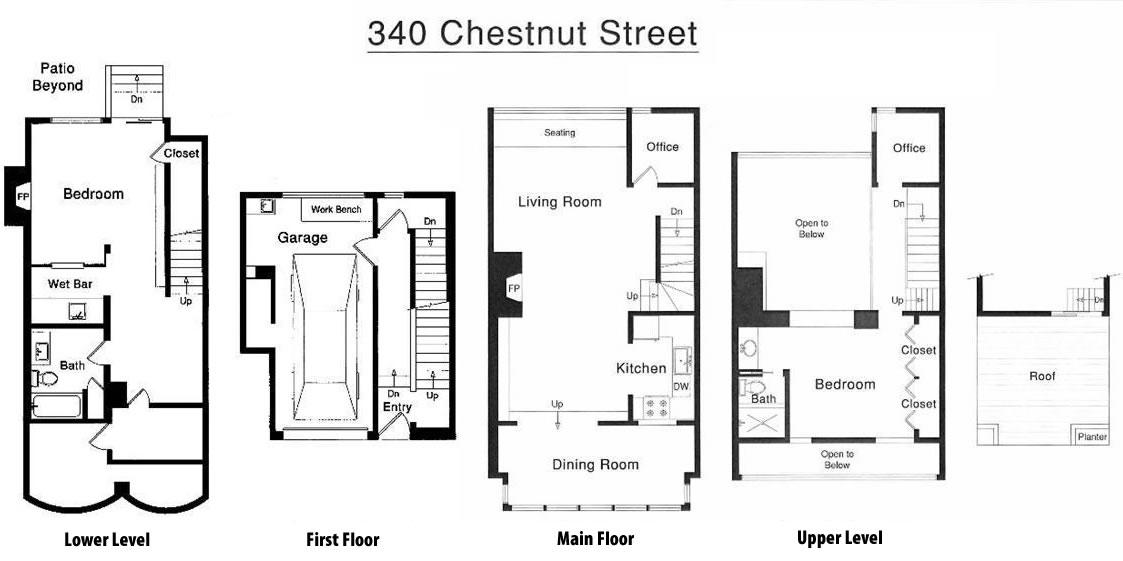 340 Chestnut Floor Plan