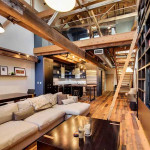 A Dramatic Remodeling Of A Warehouse Loft