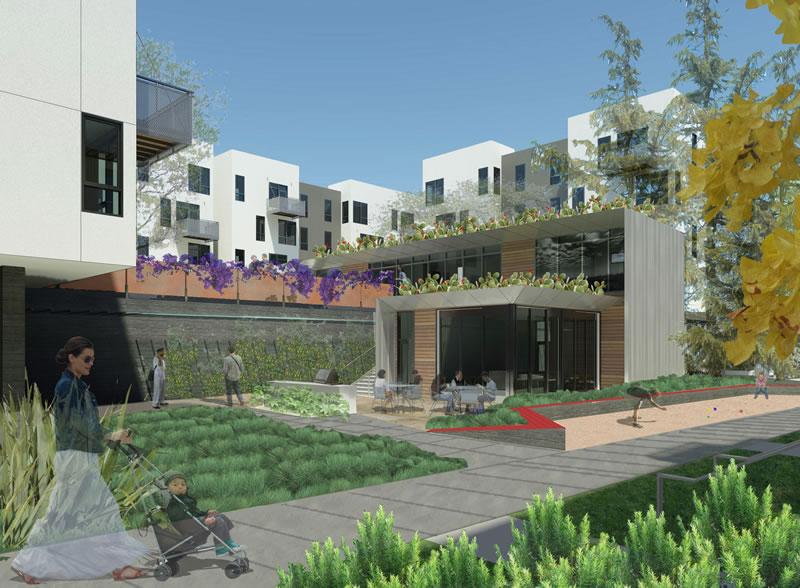 Mission Bay Block 7: Courtyard