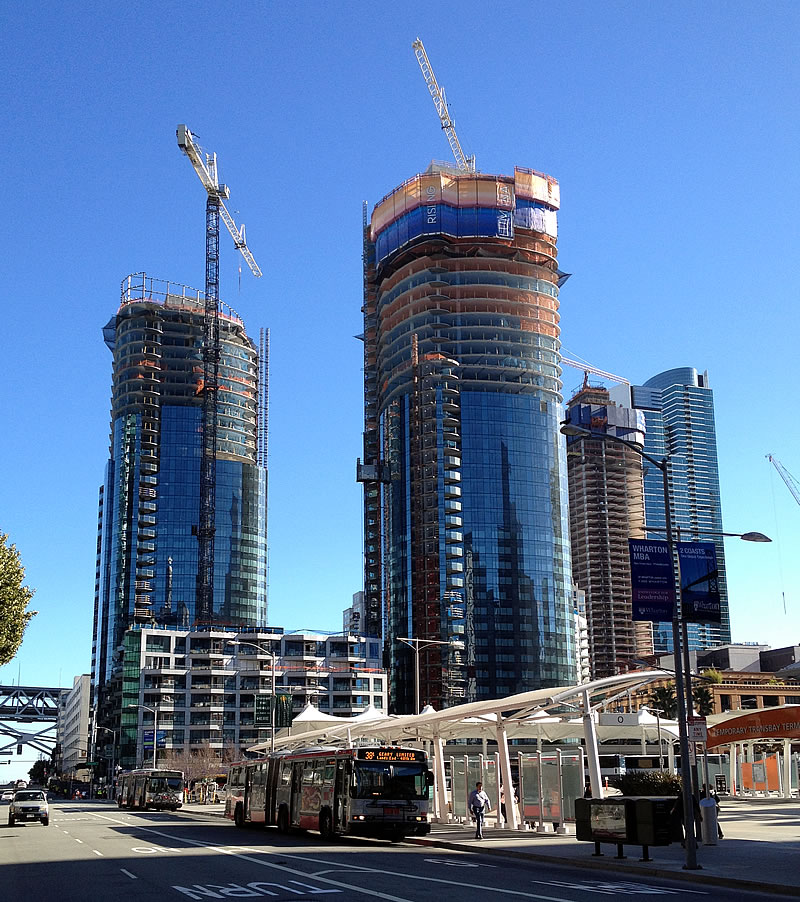 Mega Condos Could Top Two San Francisco Towers, Set A Record
